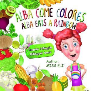 Taller infantil alba eats a rainbow