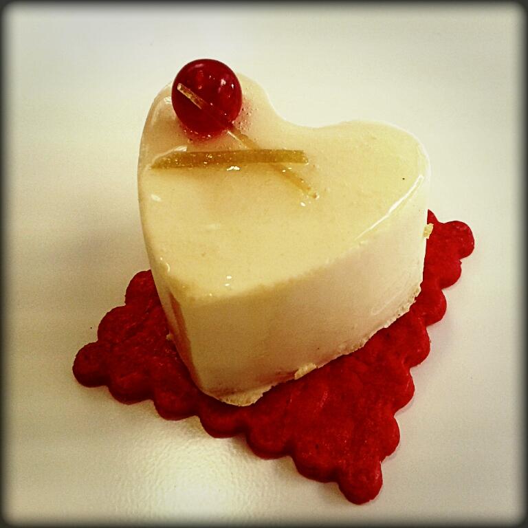 Pastel especial para San valentin fuengirola