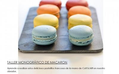 Taller de pastelería: Macaron