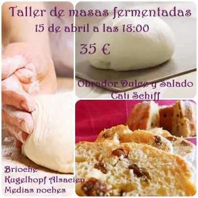 Taller de masas fermentadas (bollería)